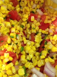 Corn Salsa with Lime