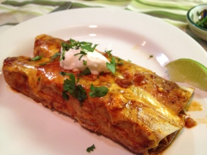 Chicken Enchiladas-a lighter version