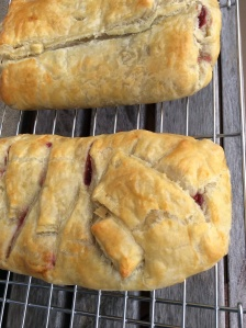 Cranberry & Meyer Lemon Strudel